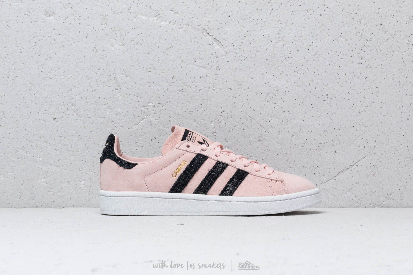 new product b5225 33871 adidas Campus W Ice Pink Core Black Crystal White at a great price 99
