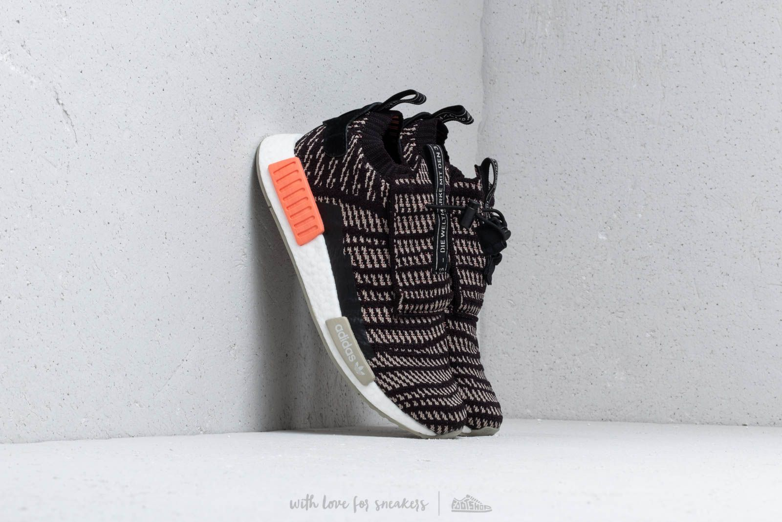 7d76b1ca5514d adidas NMD TS1 PK GTX Core Black  Sesame  Chalk Coral at a great price