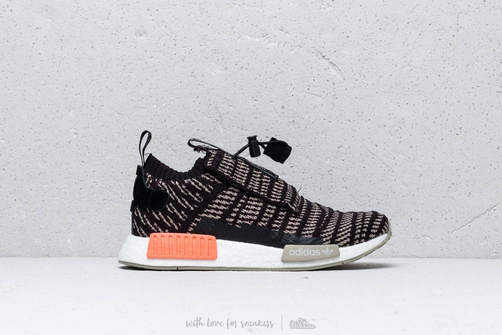 0e4a9ab01 adidas NMD TS1 PK GTX Core Black  Sesame  Chalk Coral at a great price