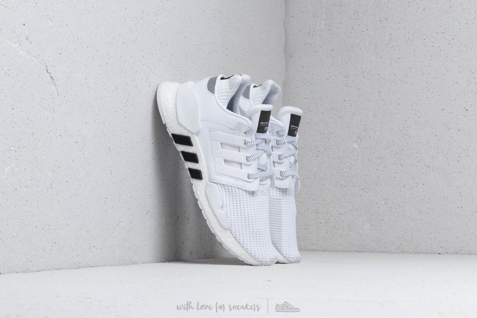 best sneakers a3069 45db7 adidas Eqt Support 91 18 Ftw White  Ftw White  Core Black at a