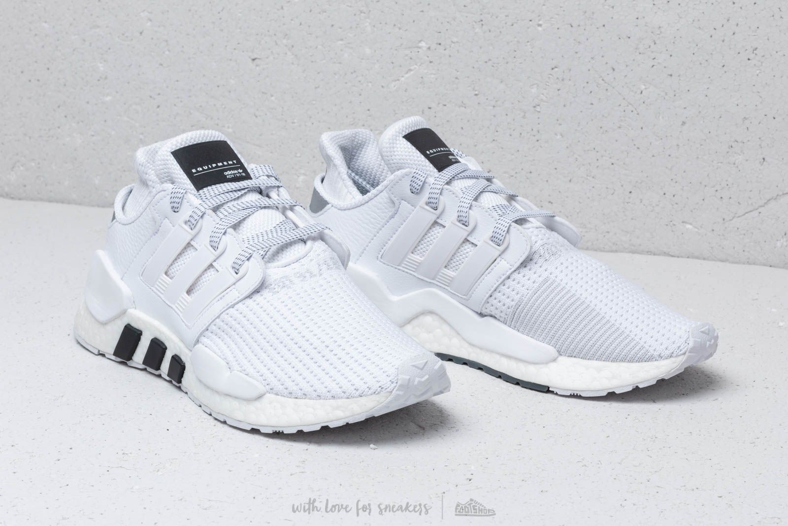 7870377815b adidas Eqt Support 91 18 Ftw White  Ftw White  Core Black at a