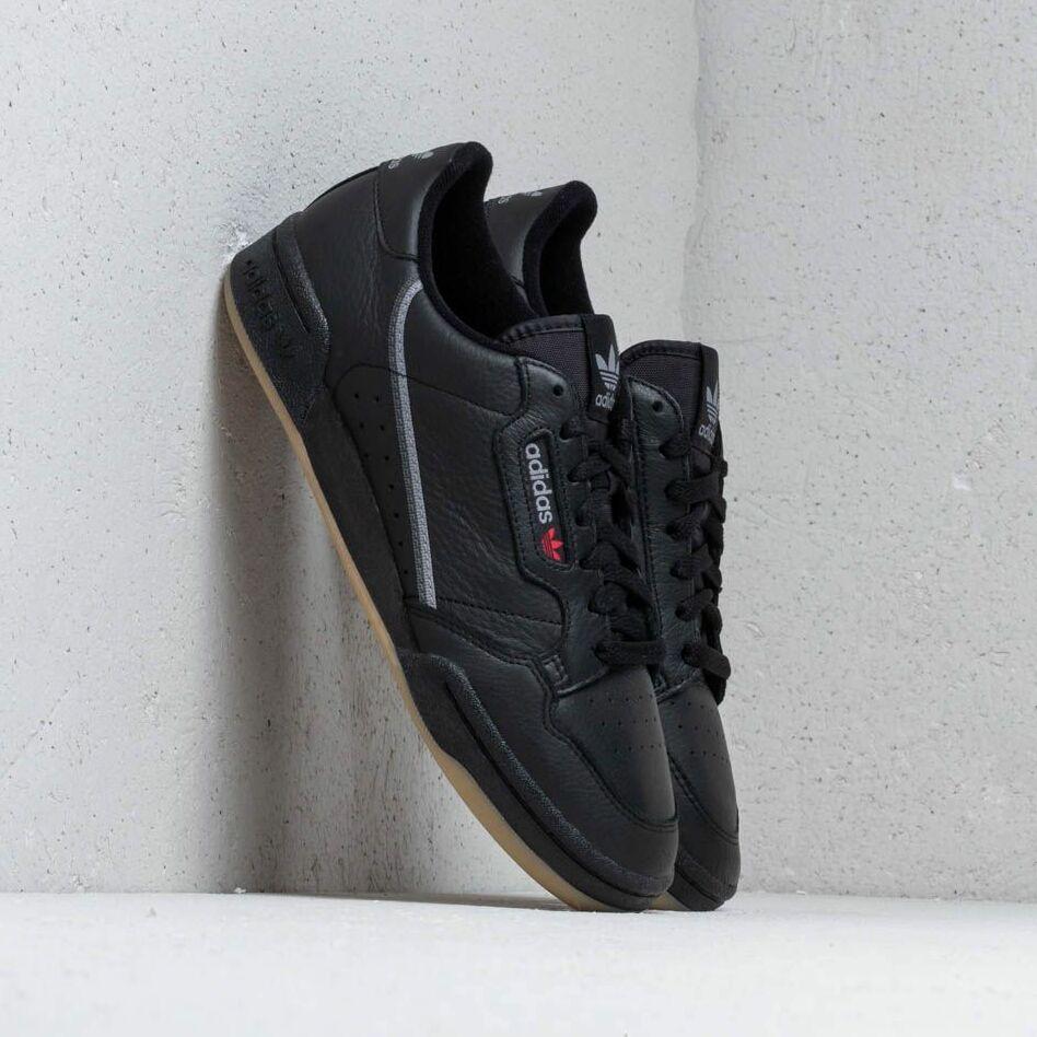 adidas Continental 80 Core Black/ Grethr/ Gum