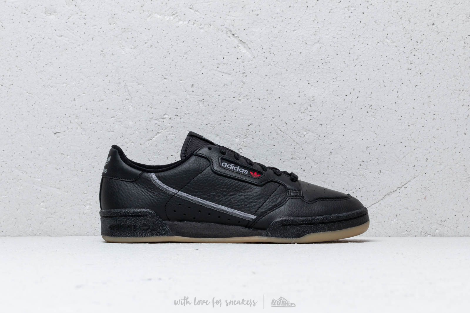 3277522ff92 adidas Continental 80 Core Black  Grethr  Gum at a great price £80 buy