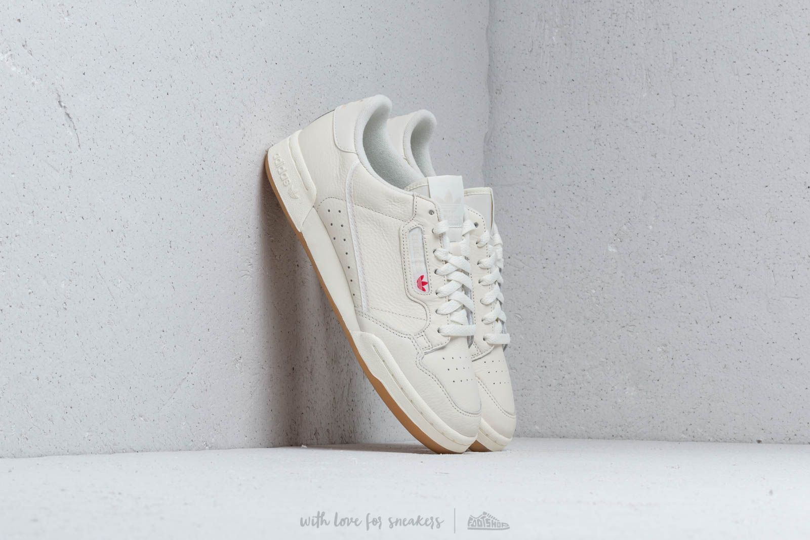 adidas Continental 80 Off White  Raw White  Gum at a great price 92 € 779526c4f
