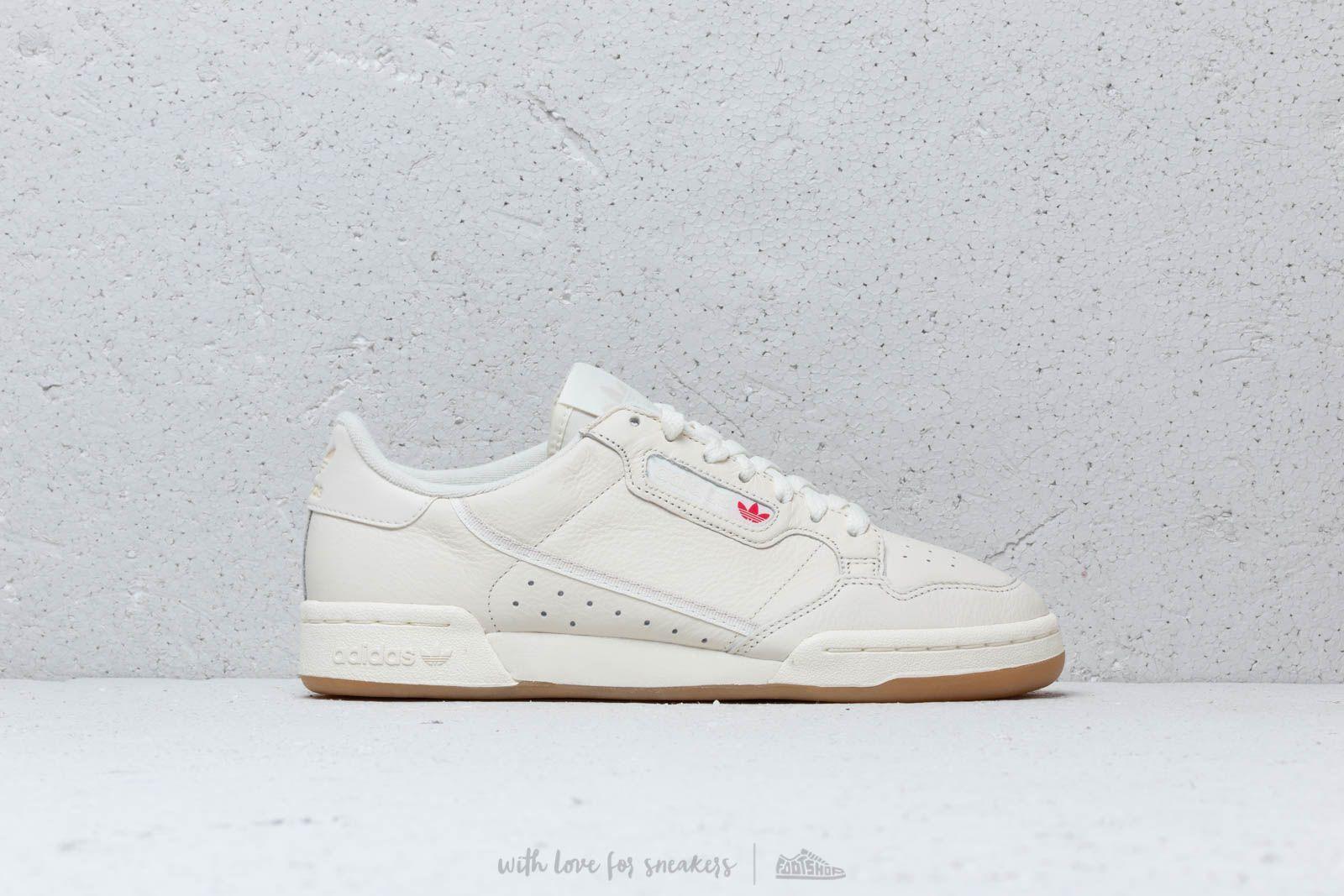 adidas Continental 80Off White/ Raw White/ Gum