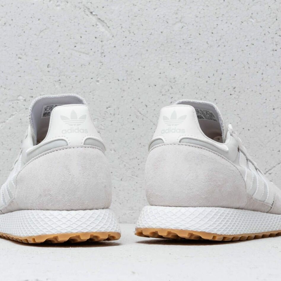 adidas Forest Grove Cloud White/ Cloud White/ Ftw White, Brown