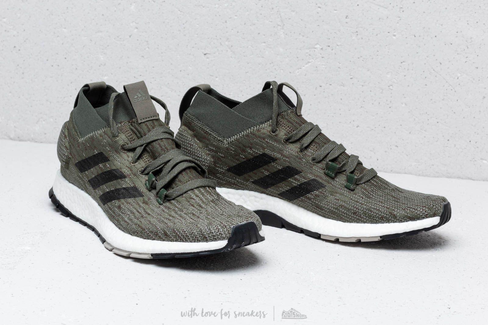 shoes adidas PureBOOST RBL base green