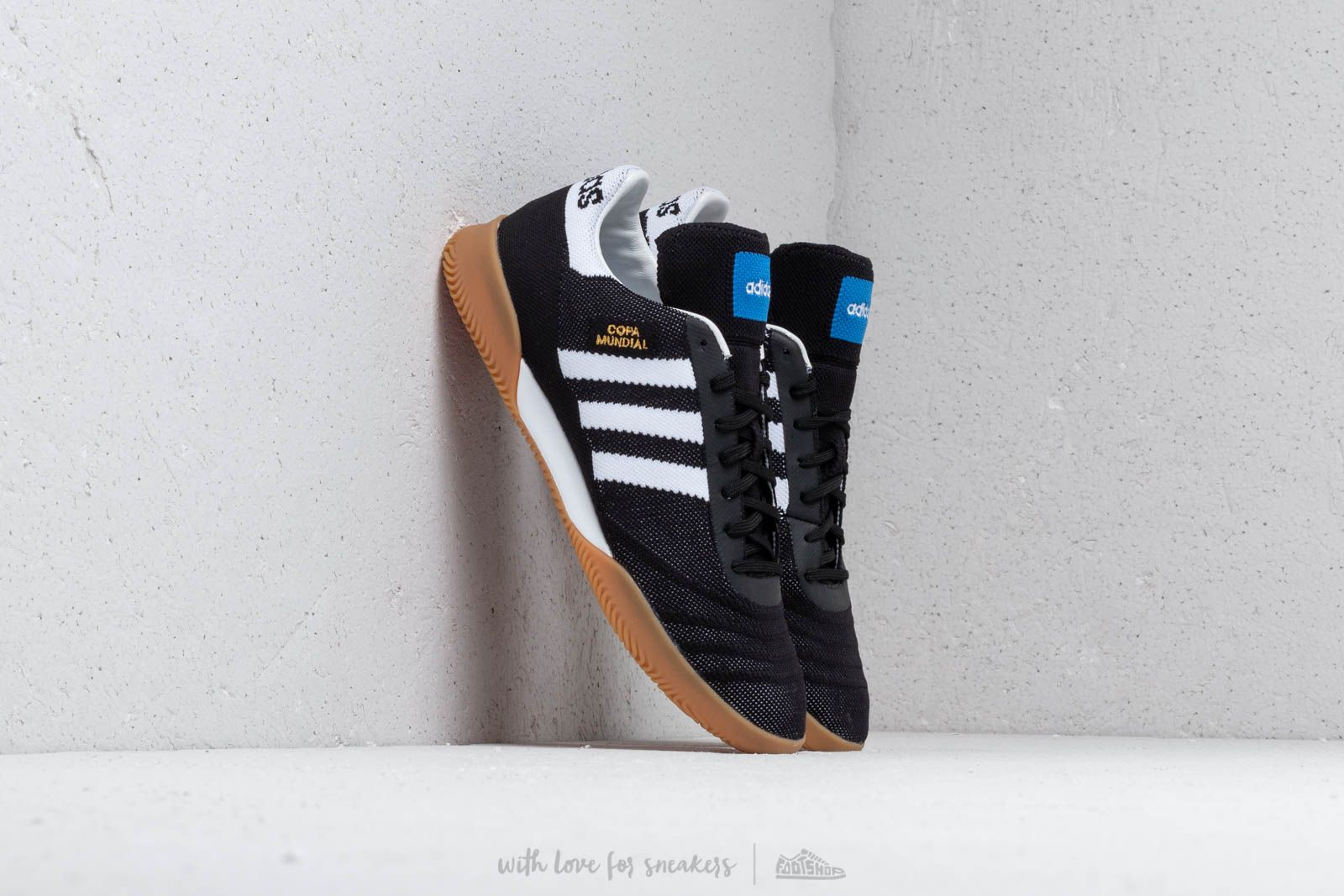Baskets adidas Copa 70Y TR Core Black White Gold metallic