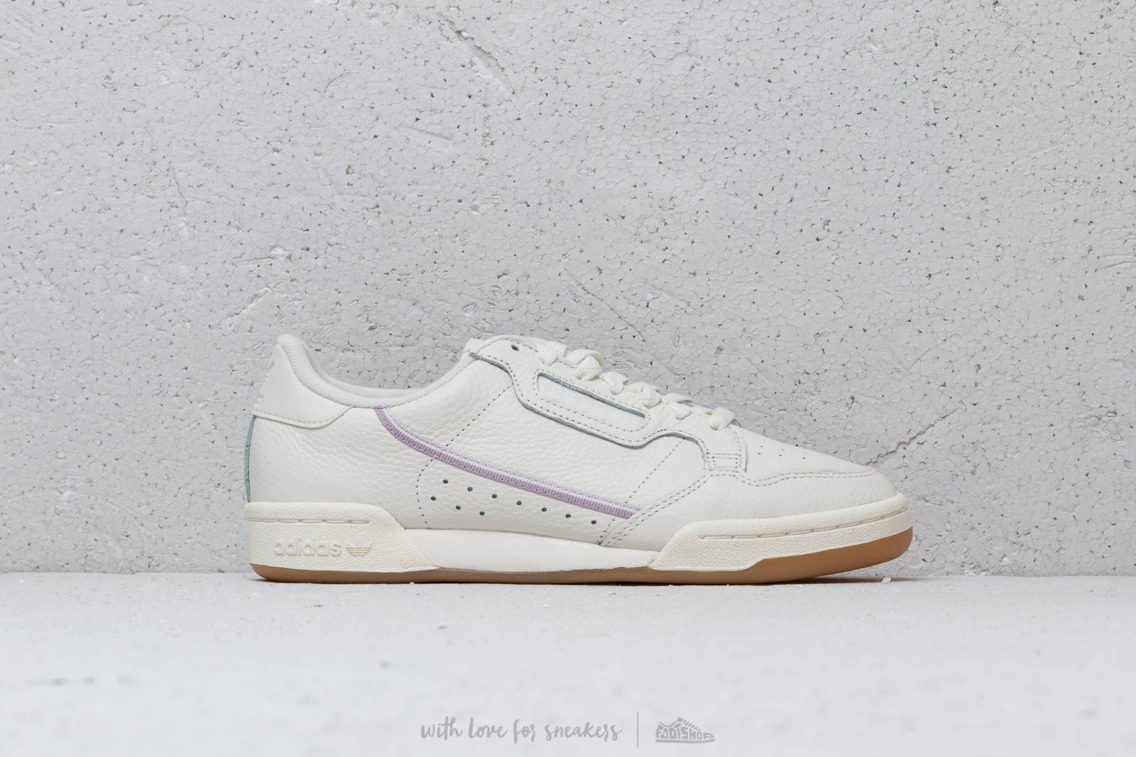 4bfbb93b0cdf adidas Continental 80 W Off White  Orchid Tint  Soft Vision at a great price