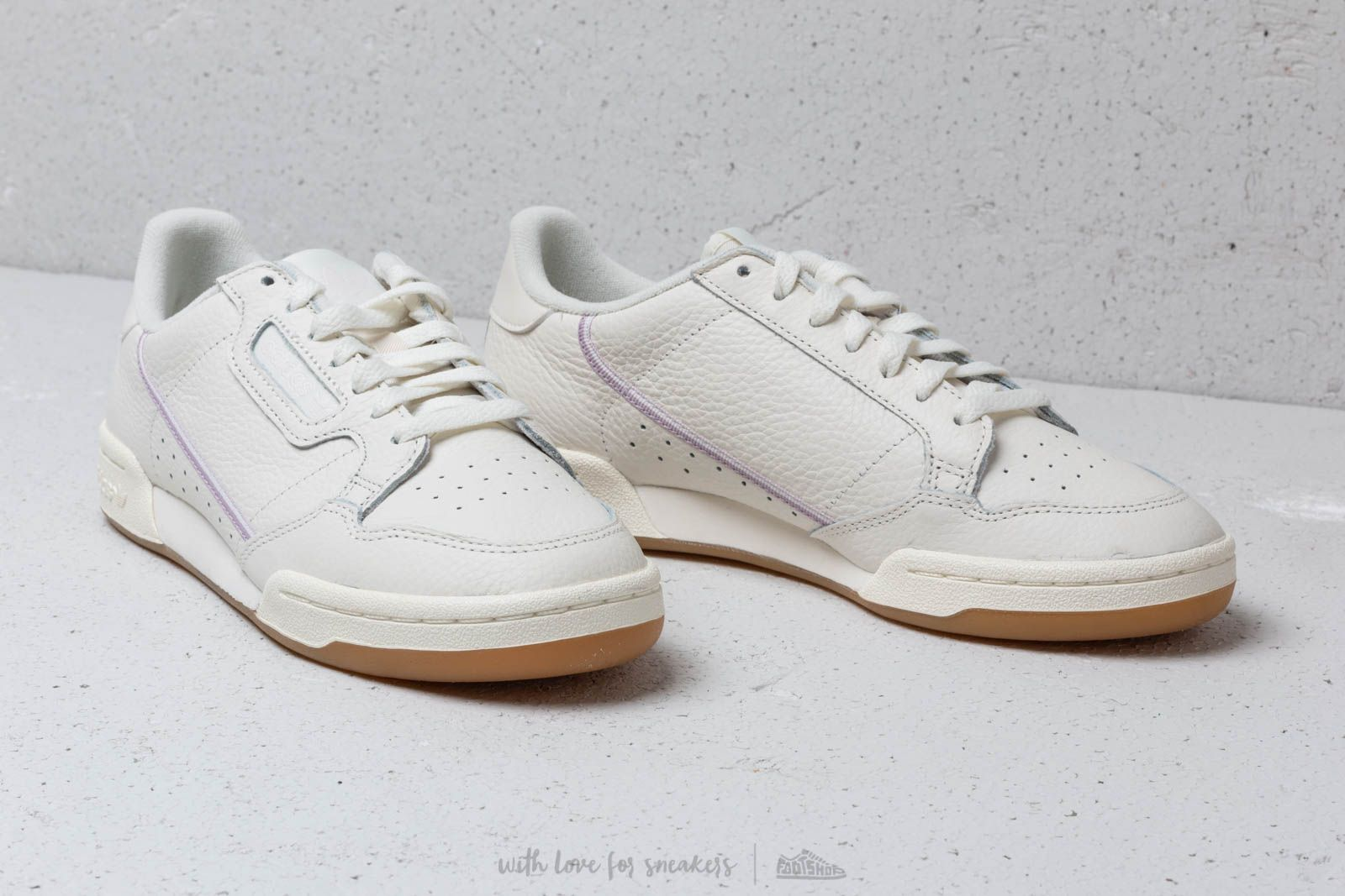 9195b3d15a4 adidas Continental 80 W Off White  Orchid Tint  Soft Vision at a great price