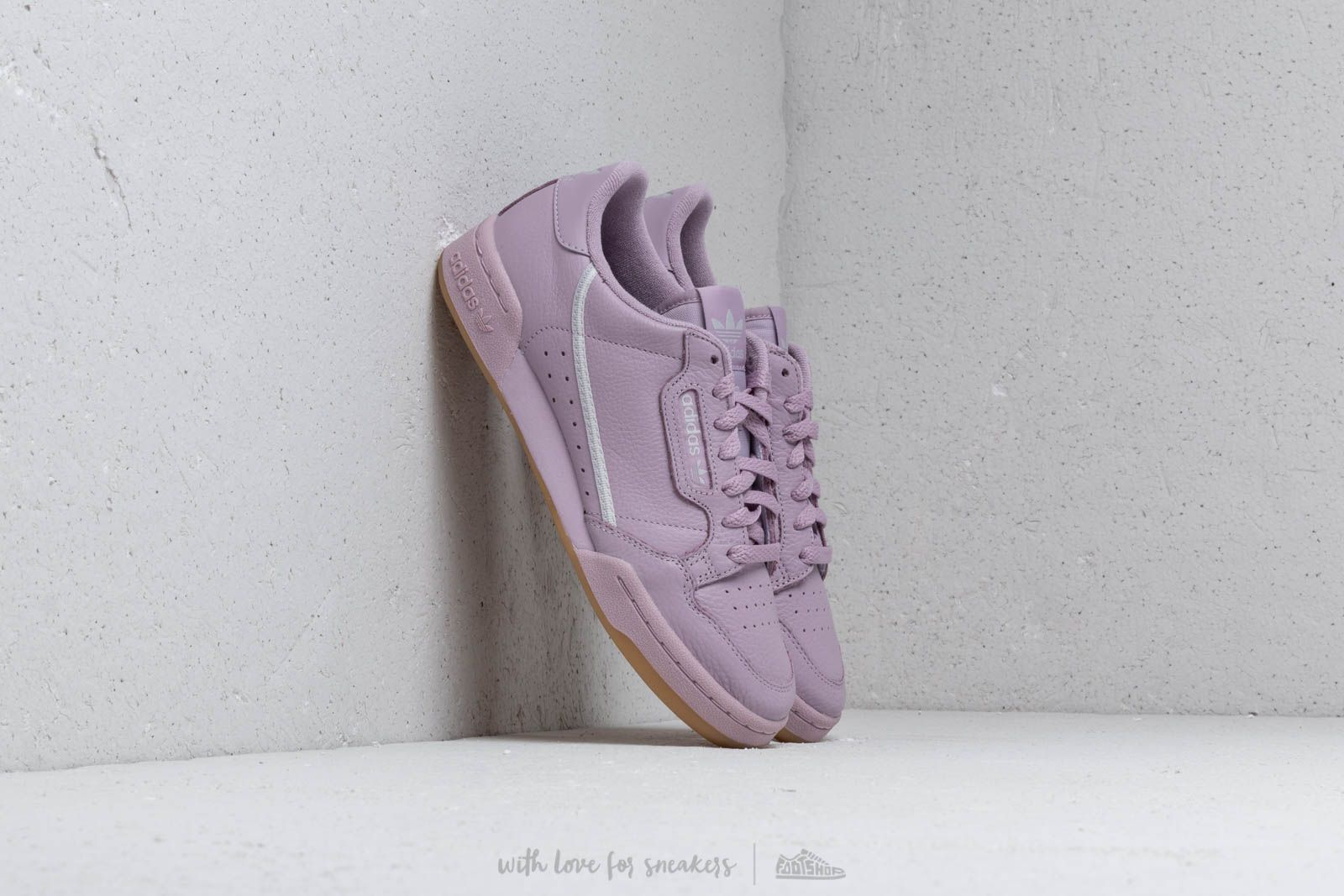 adidas continental 80 violet