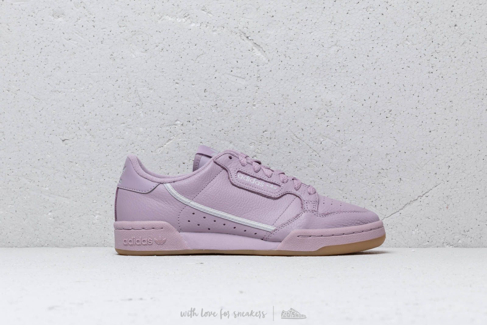 new styles f55e2 be13d adidas Continental 80 W Pink  Grey One  Grey Two at a great price 92