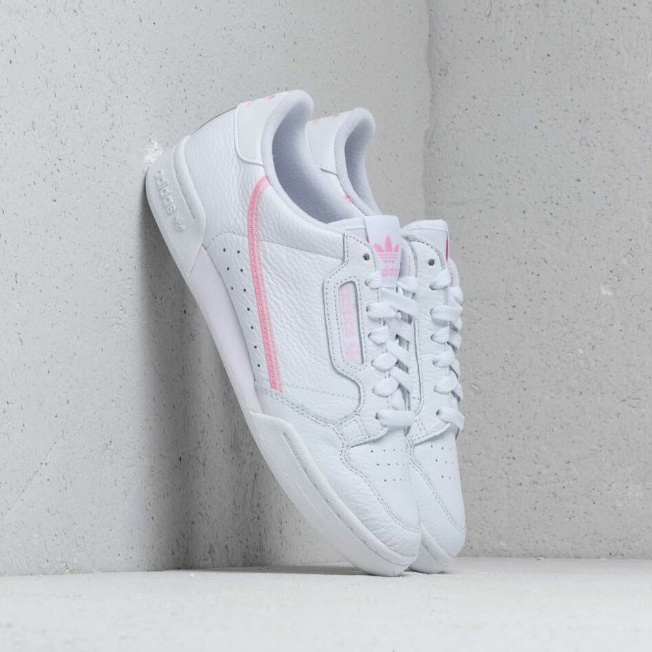adidas Continental 80 W Ftw White/ True Pink/ Clear Pink EUR 41 1/3