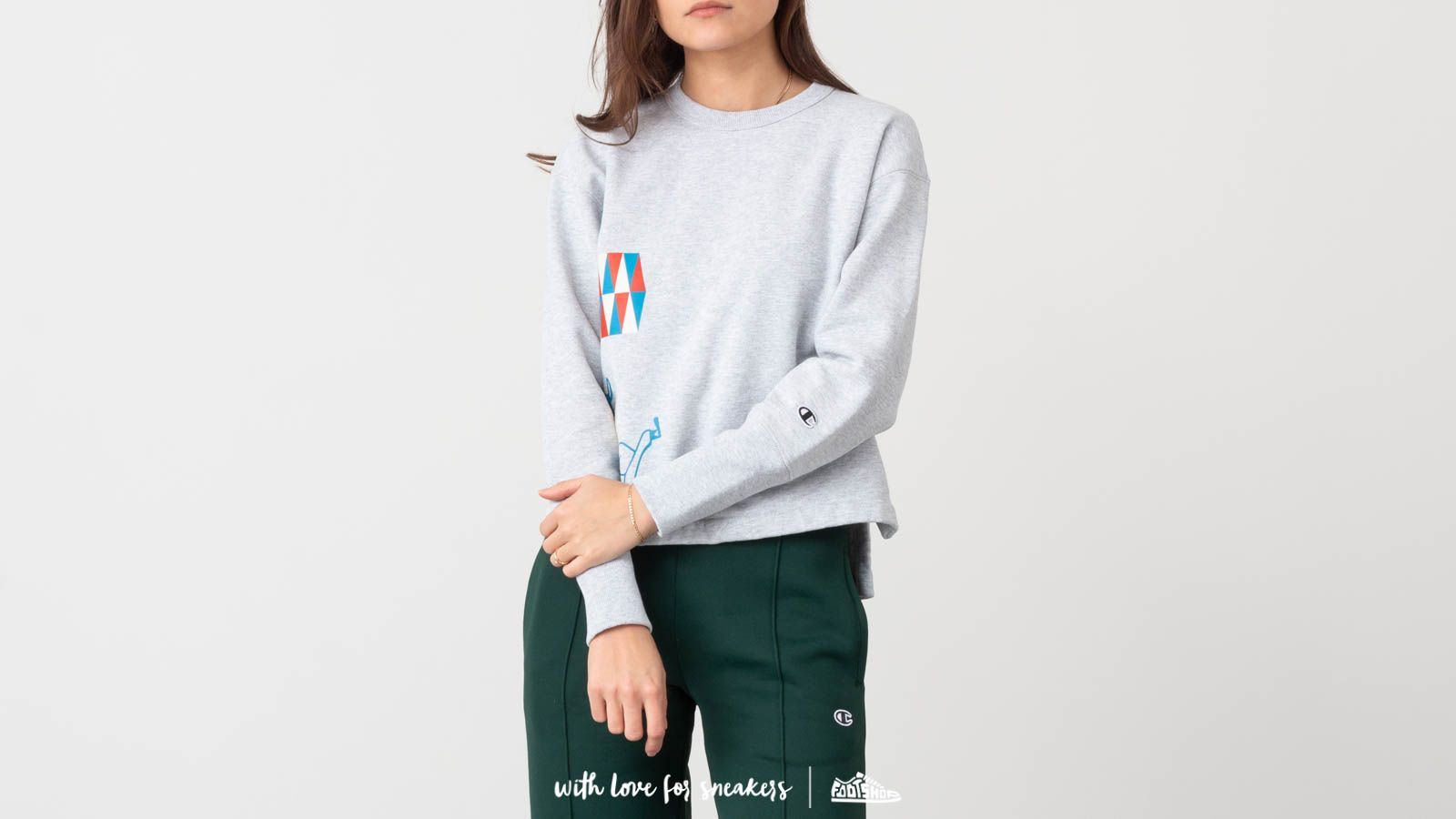Champion x WOOD WOOD Lucy Reverse Weave Crewneck