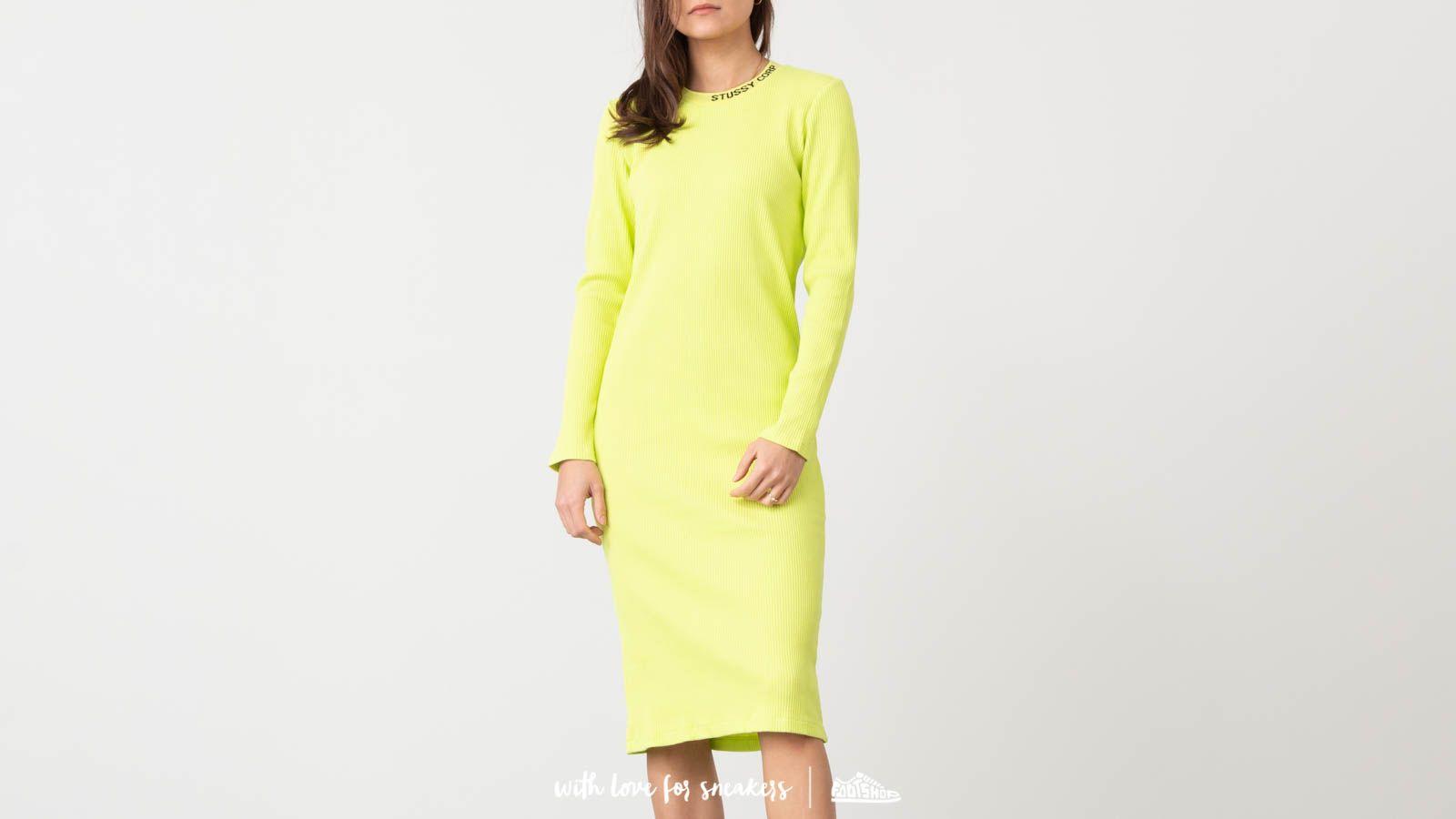 Stüssy Temple Rib Lonsleeve Dress