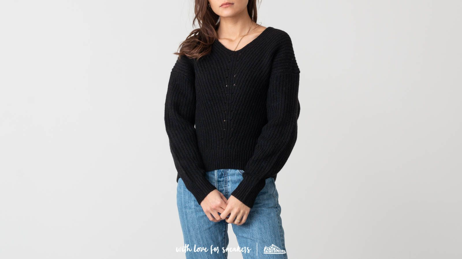 SELECTED Rose Longsleeve Knitted V-Neck Sweather