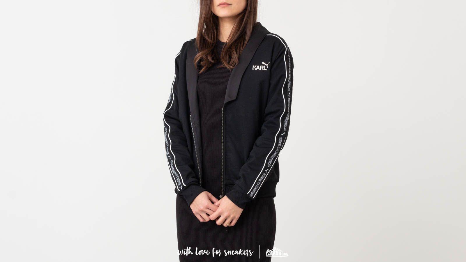 Puma x Karl Lagerfeld Track Top Black za skvelú cenu 72 € kúpite na Footshop.sk