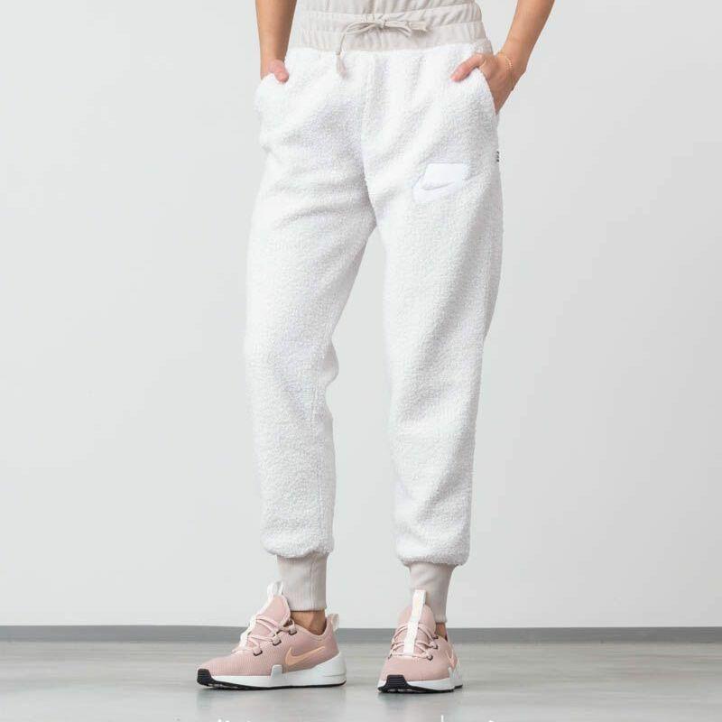 Nike Sportswear Sherpa Jogger Pants White