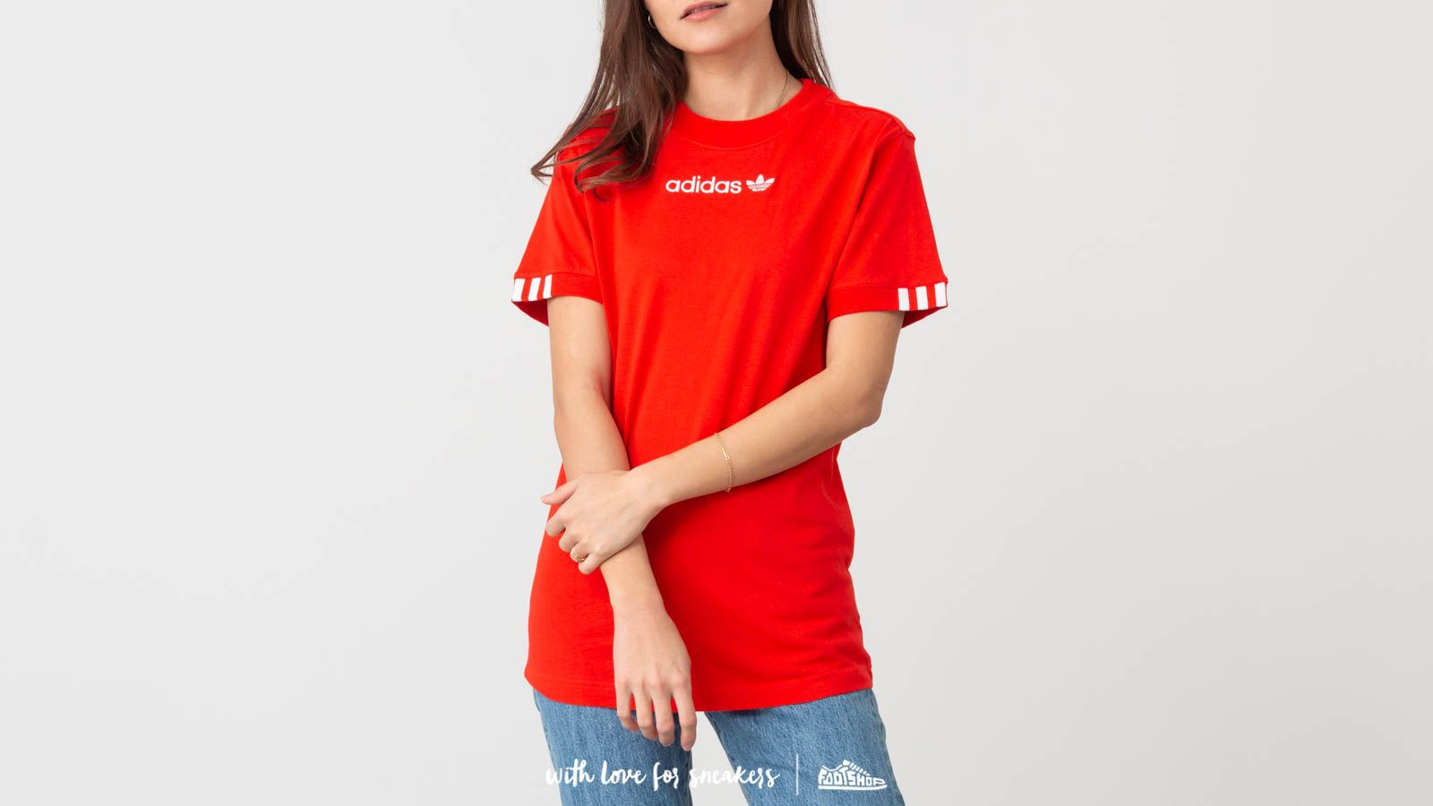 024612d14e8 adidas Coeeze T-Shirt Action Red | Footshop