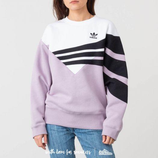 Sweatshirts Adidas white pink • best prices•