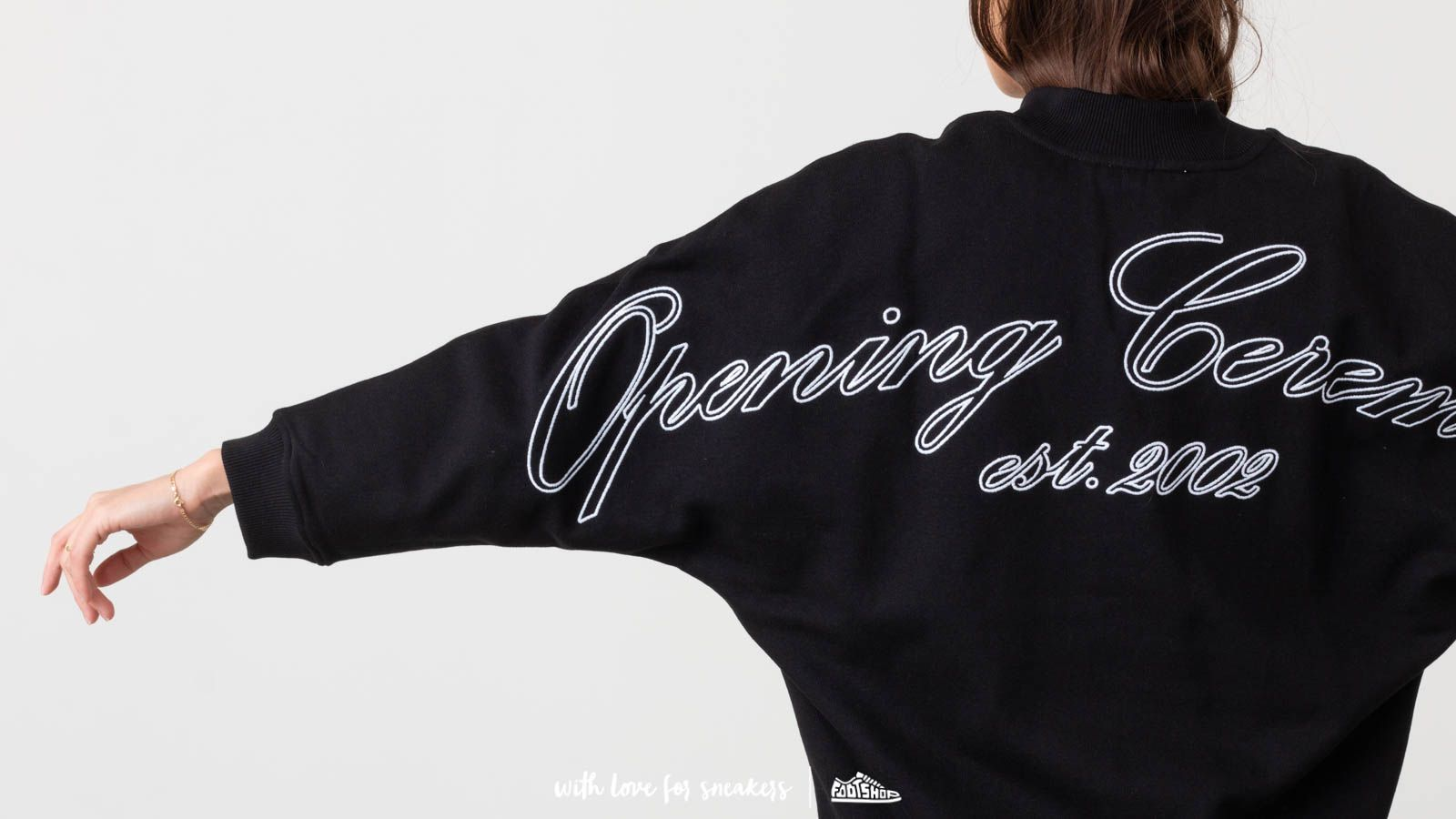 3a286a72a8c Opening Ceremony Logo Dolman Sweatshirt Black at a great price 223 € buy at  Footshop
