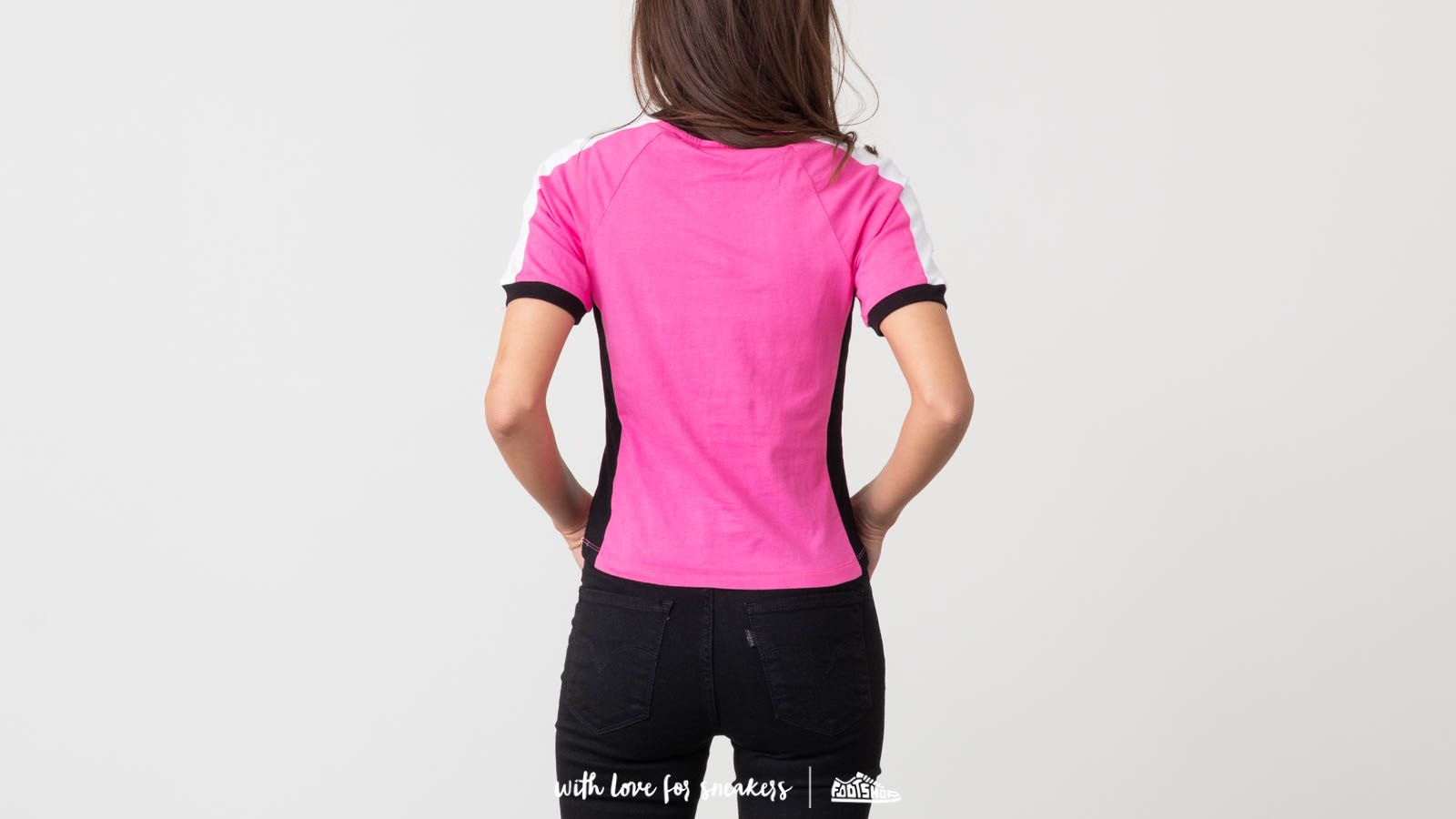 Lazy Oaf Lazy Sports Ringer Tee Pink | Footshop