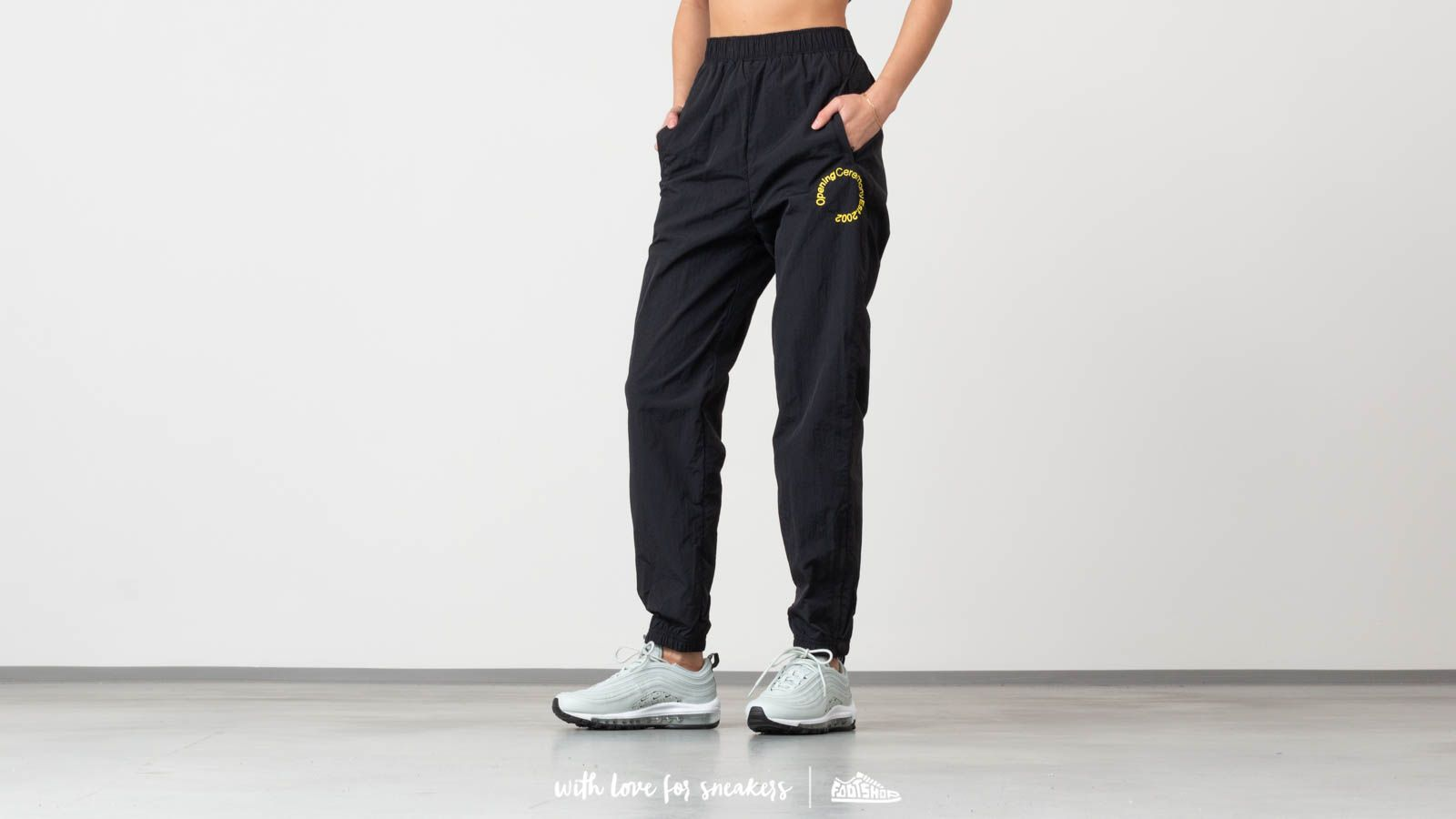 Opening Ceremony Crinkle Nylon Jogging Pants