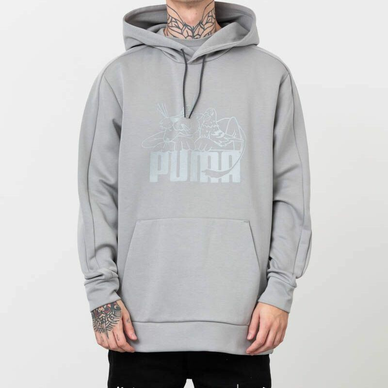 Puma x Jeff Staple T7 Hoodie Grey, Gray