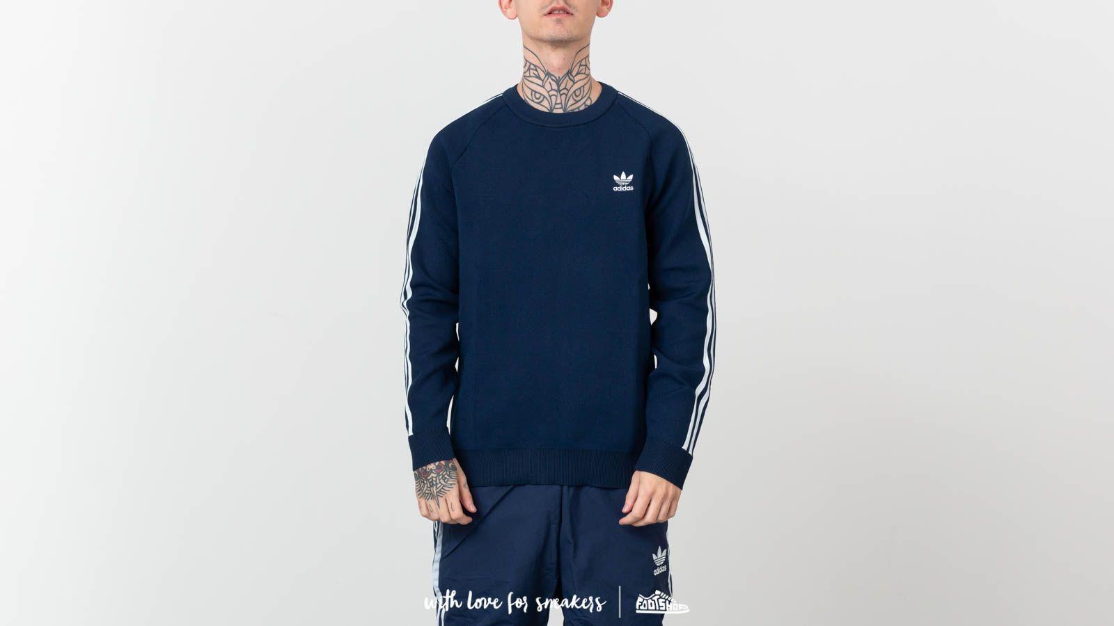 adidas Originals Knit Crewneck Collegiate Navy at a great price 79 € buy at  Footshop c4bfc2c80