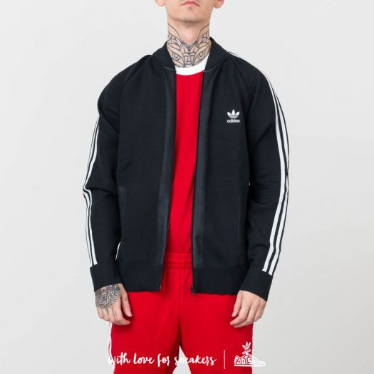 adidas Black Friday Knitted Track Top Black | Footshop