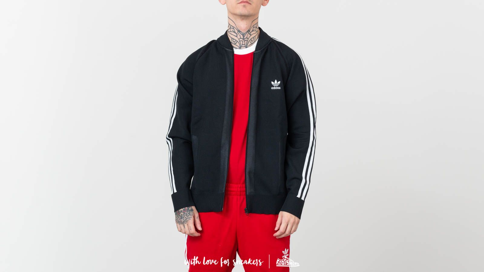 adidas Originals Black Friday Knitted Track Top | Noir