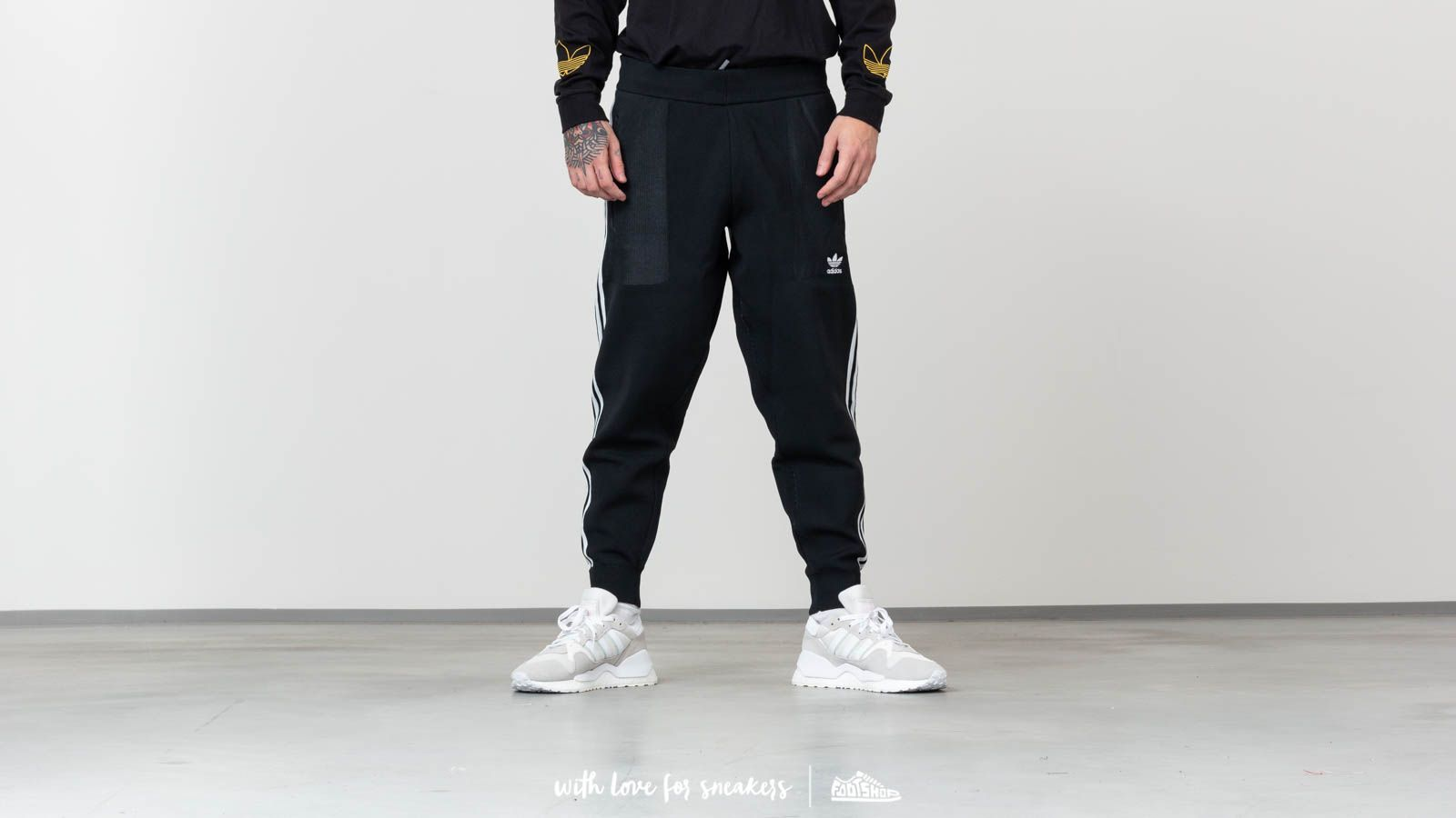 adidas Originals BF Knit Tracksuit Pants Black at a great price 88 € buy at  Footshop 84457472bf