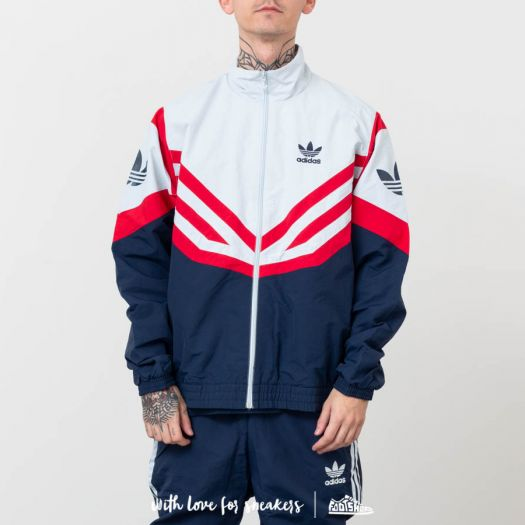 offer discounts good quality available adidas Originals Sportive Track Top Jacket Light Gray/ Navy ...