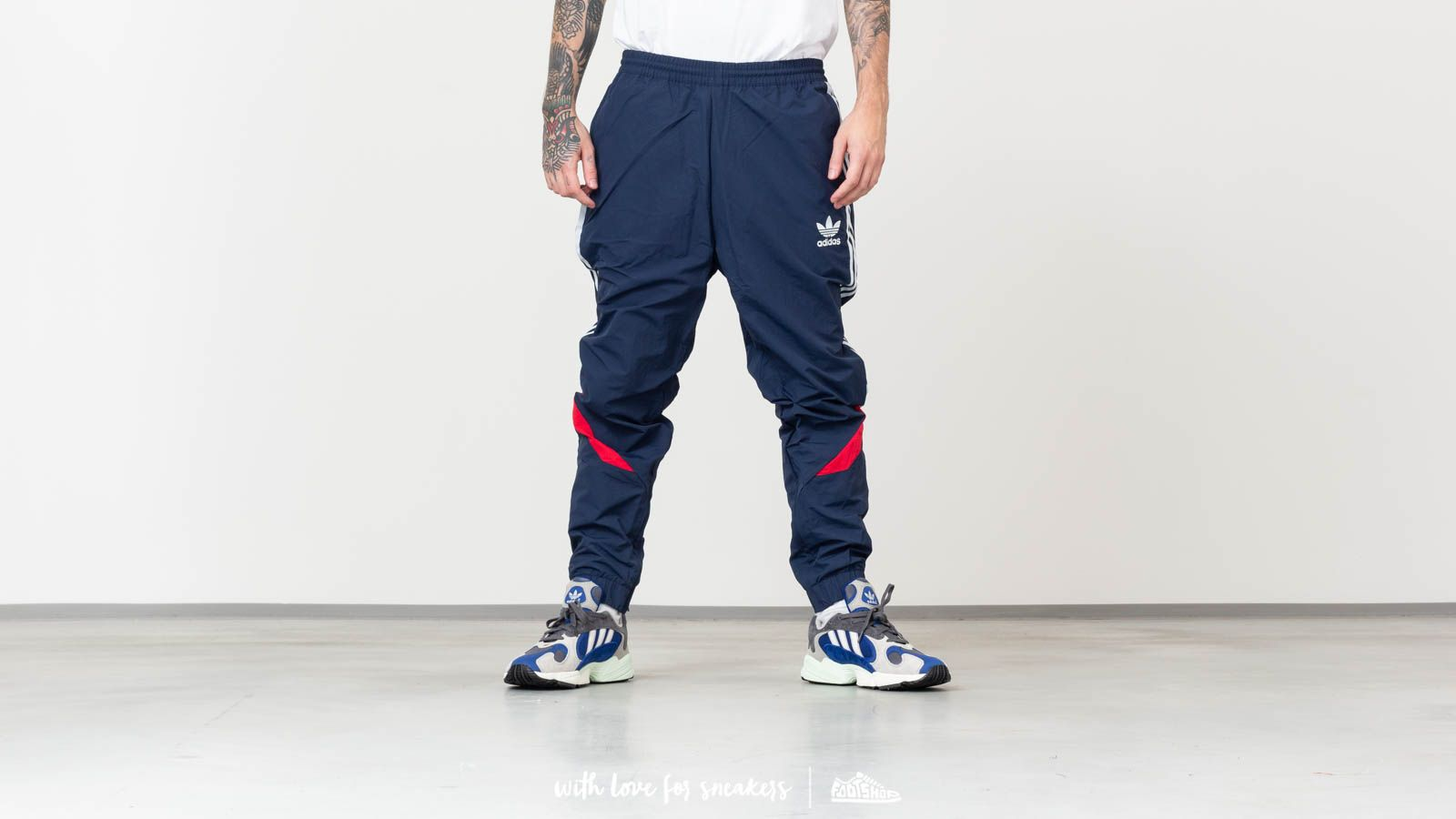 a849cb99f925a3 adidas Sportive Track Pants Navy at a great price £68 buy at Footshop