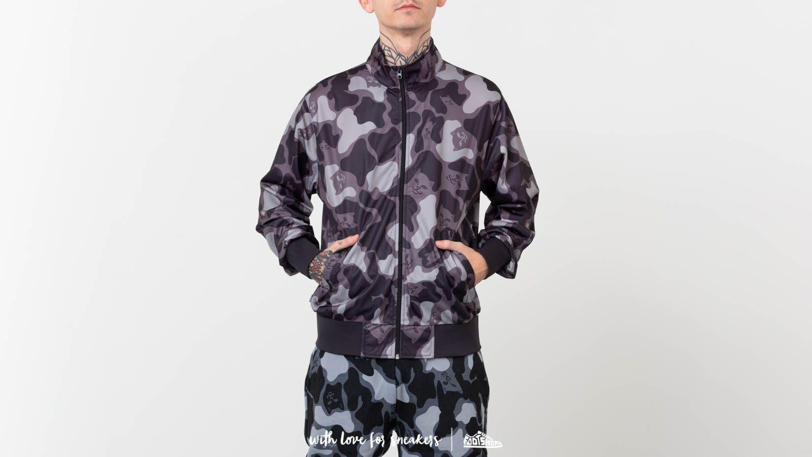 RIPNDIP Nerm Camo Track Jacket Blackout Camo za skvelú cenu 69 € kúpite na Footshop.sk