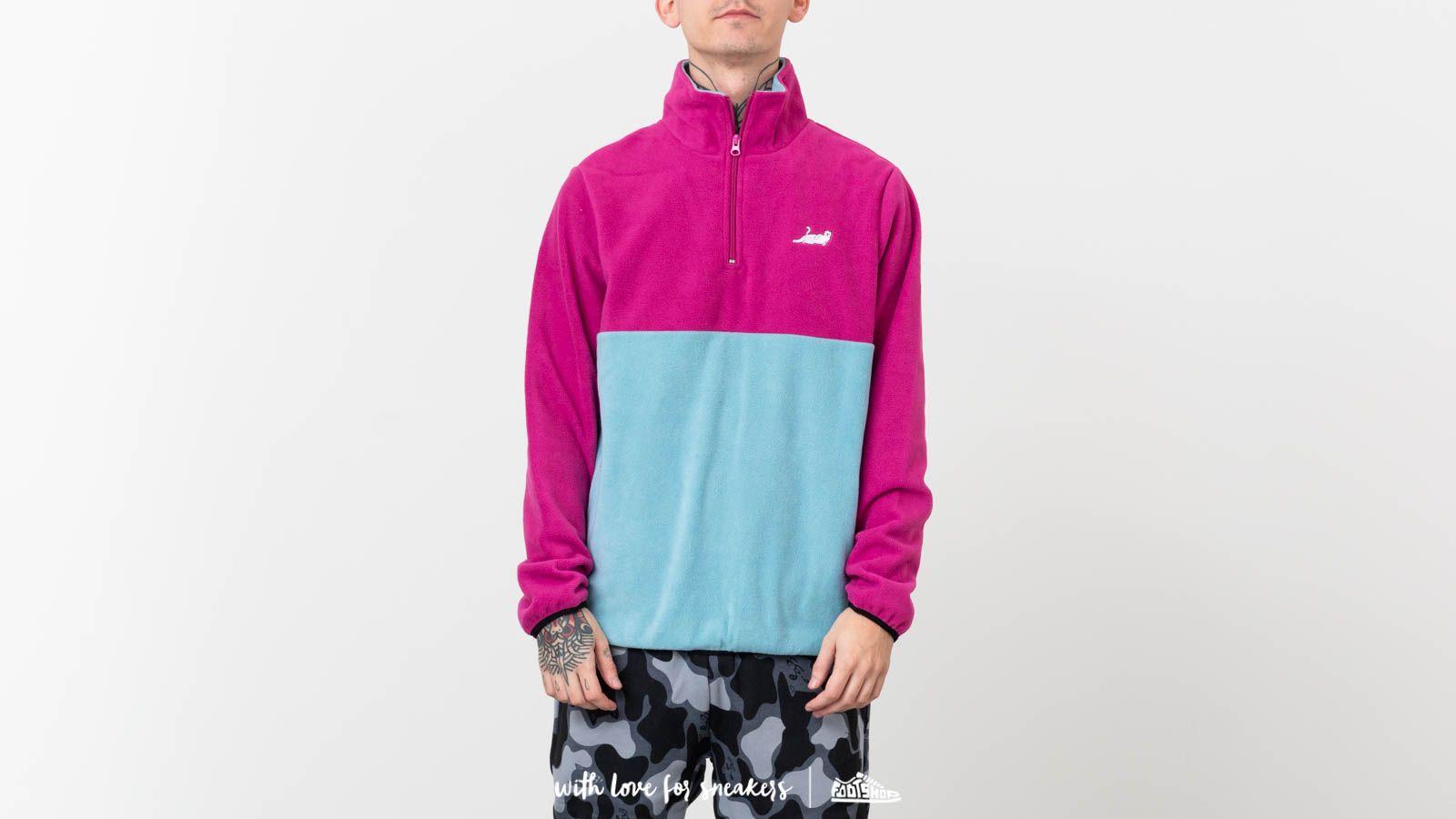 RIPNDIP Castanza Half Zip Brushed Fleece Sweater Purple za skvelú cenu 51 € kúpite na Footshop.sk