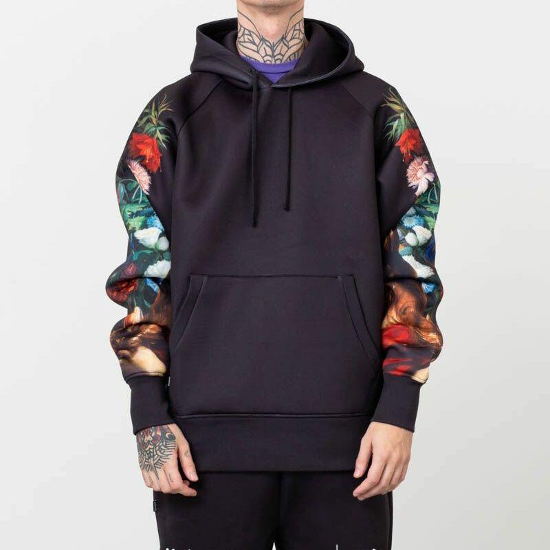 RIPNDIP Bouquet Pullover Sweater Black