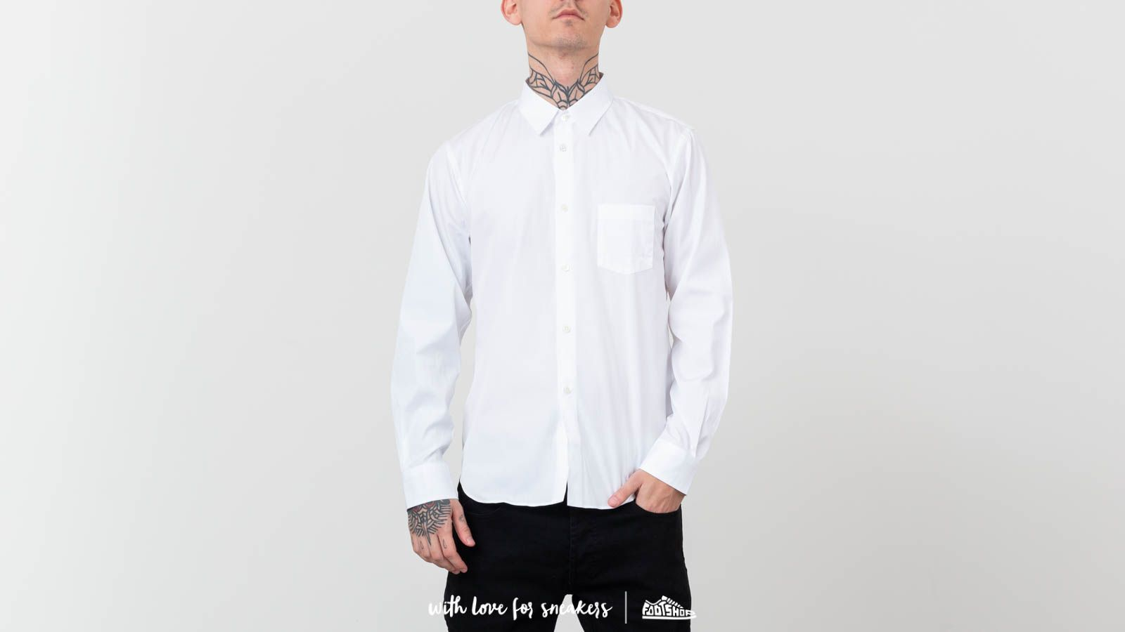 Comme des Garçons SHIRT BOYS W26936 White at a great price 188 € buy at Footshop