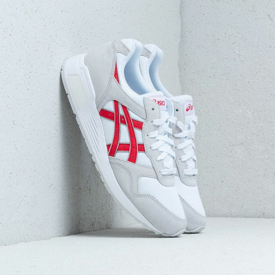 Asics Lyte-Trainer White/ Classic Red