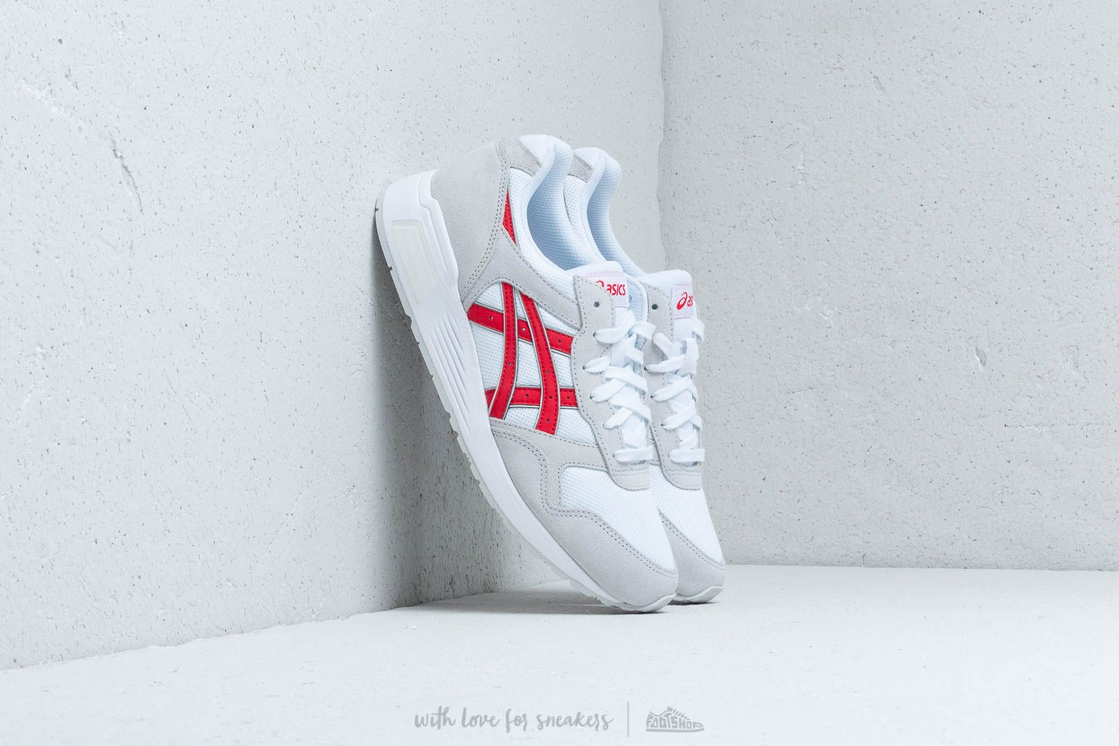 Asics Lyte-Trainer White/ Classic Red at a great price 58 € buy at Footshop