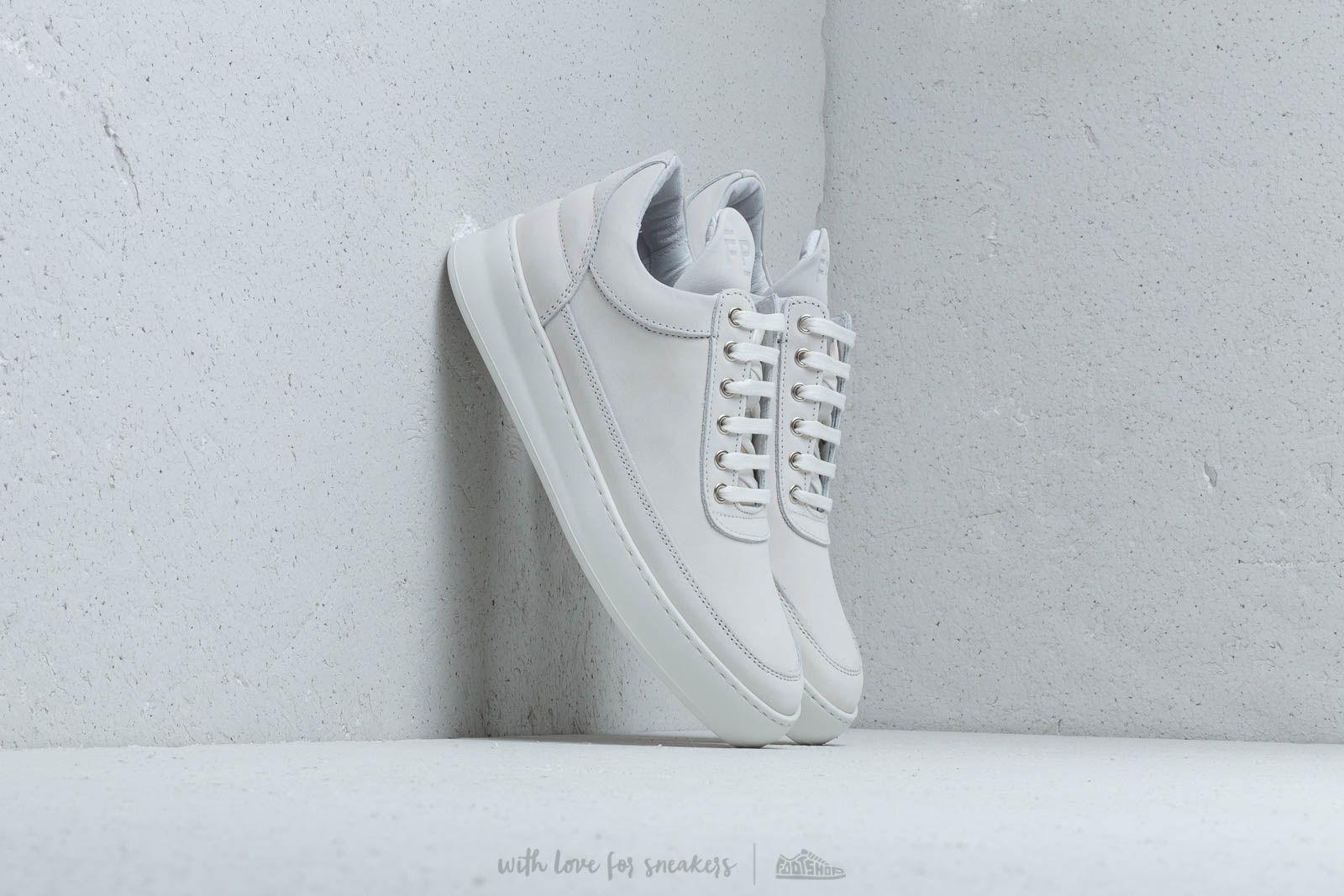 Women's shoes Filling Pieces Low Top Plain Lane Nubuck White