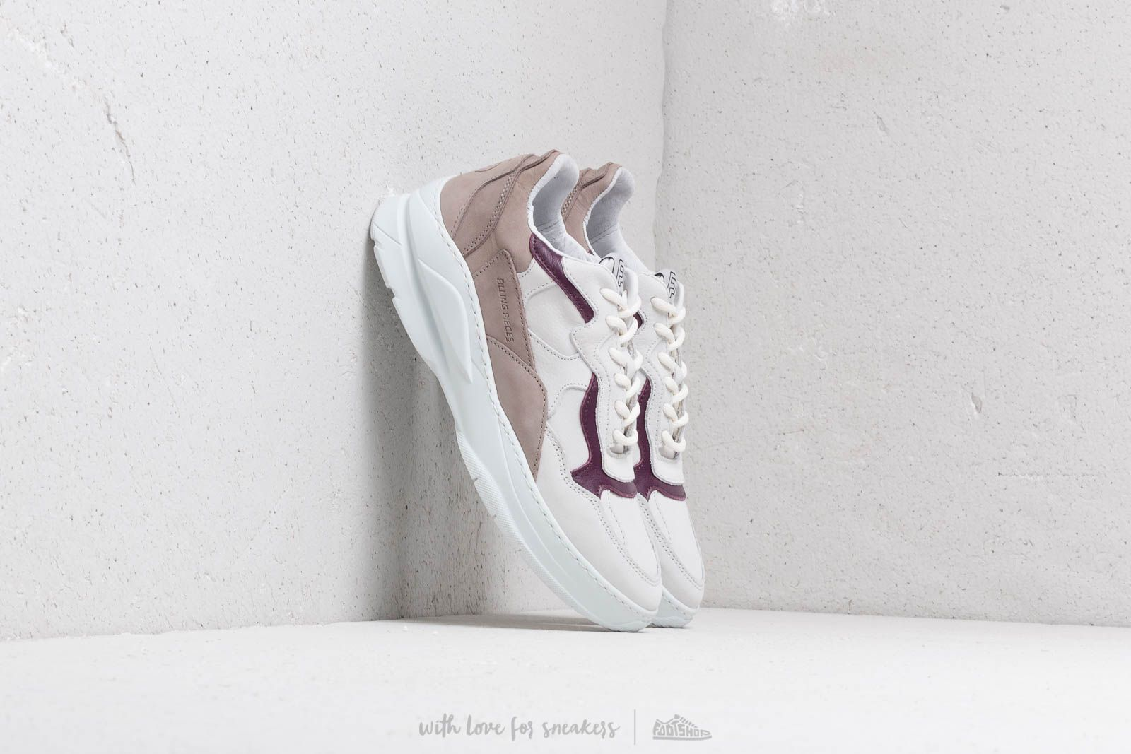 Men's shoes Filling Pieces Low Fade Cosmo Mix Taupe/ Lila