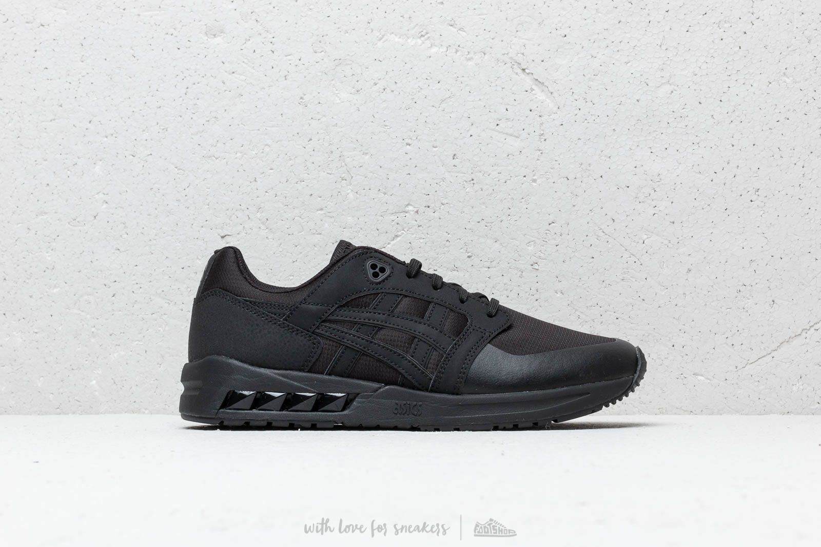 finest selection 3664e bc96c Asics Gelsaga Sou Black/ Black | Footshop
