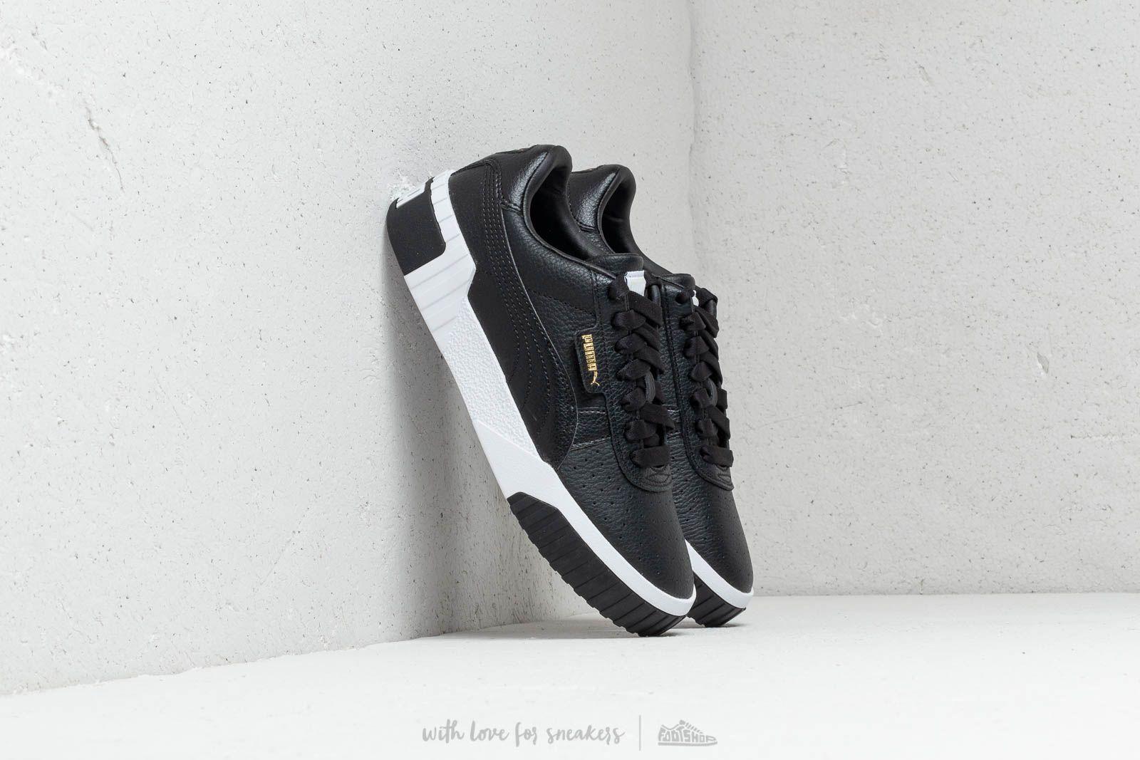 shoes Puma Cali Wmns Puma Black/ Puma White
