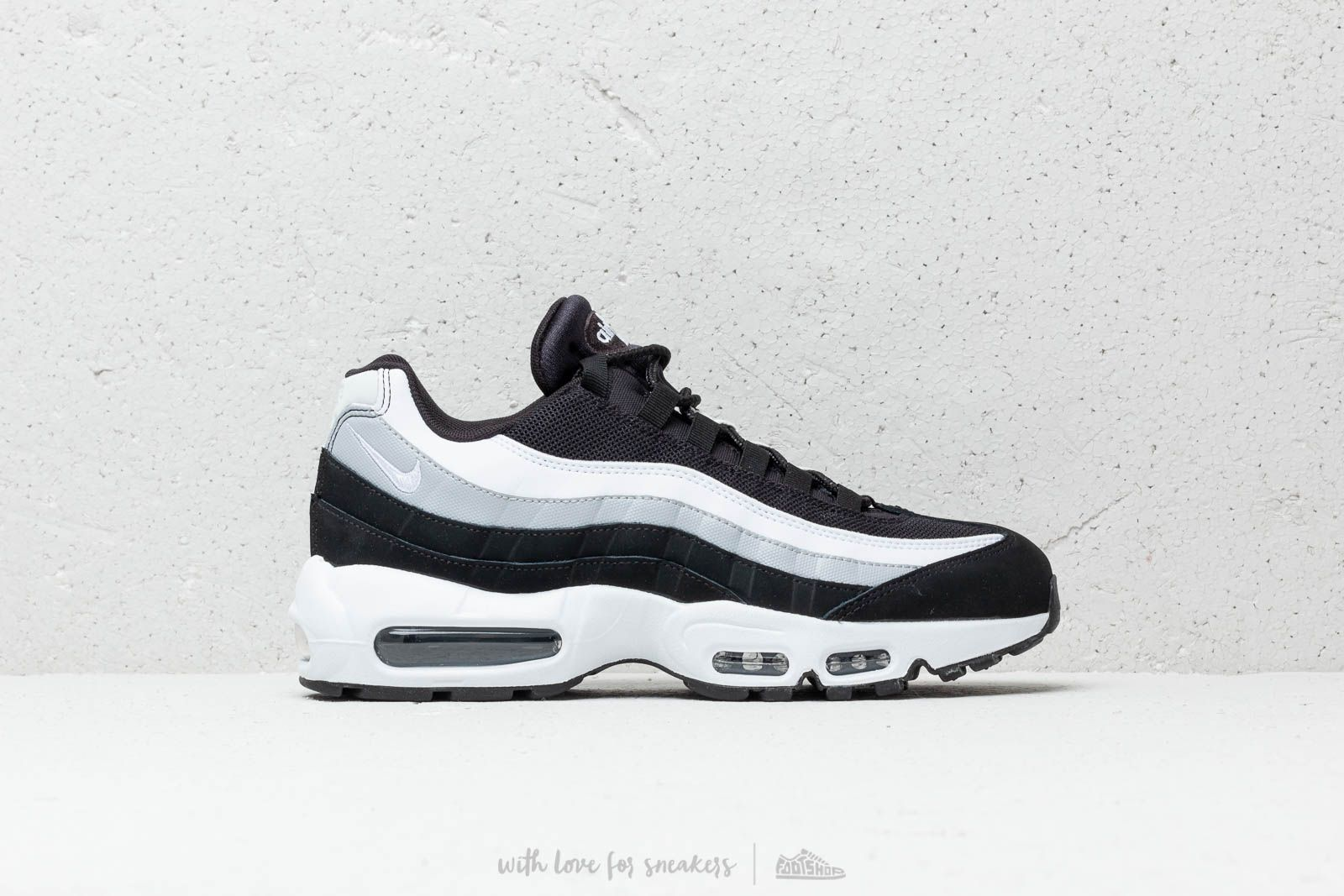 hot sales 8b63c 07a67 Nike Air Max 95 Essential Black  White-Wolf Grey at a great price 111