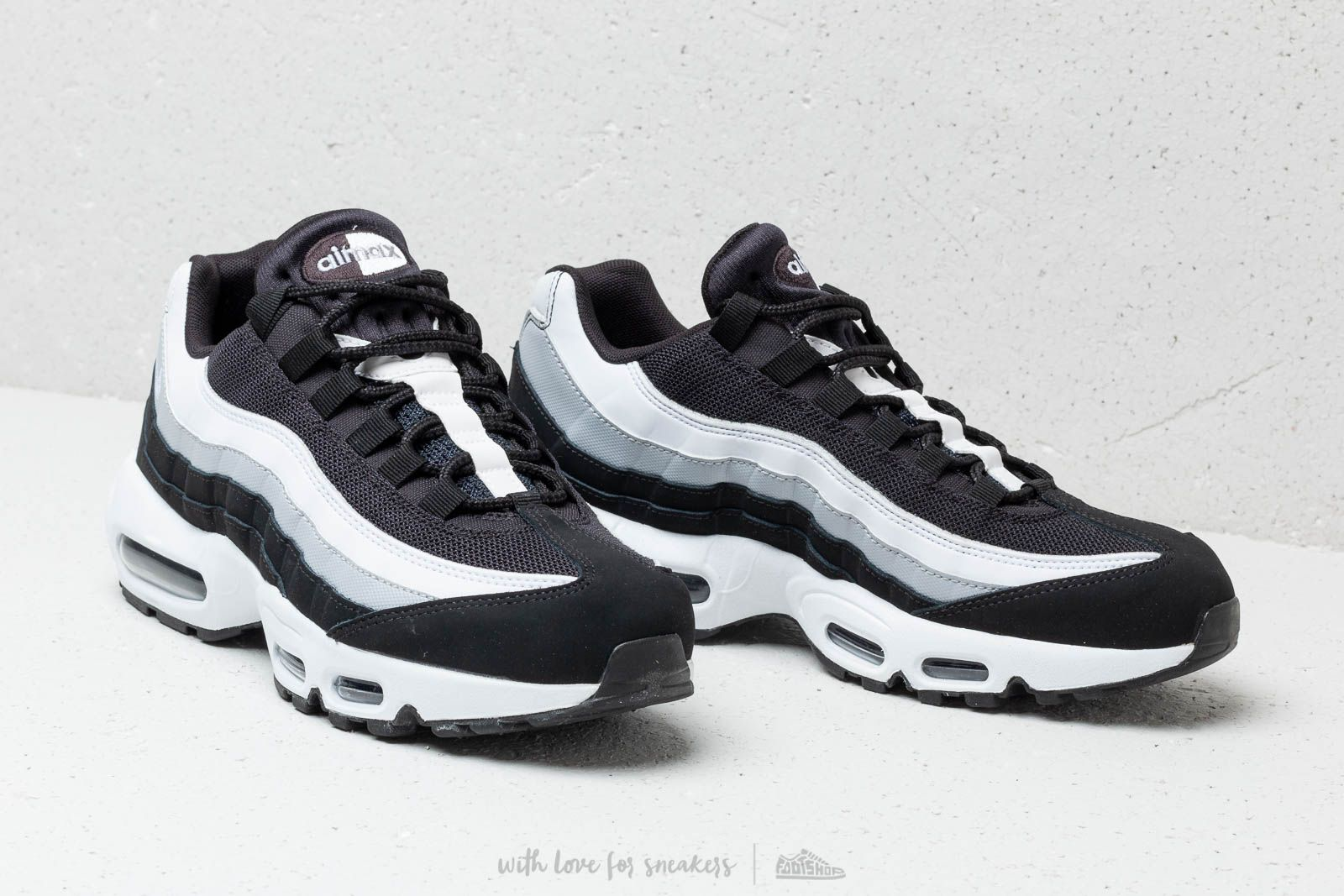 391bdc4084eb Nike Air Max 95 Essential Black  White-Wolf Grey za skvelú cenu 158 €