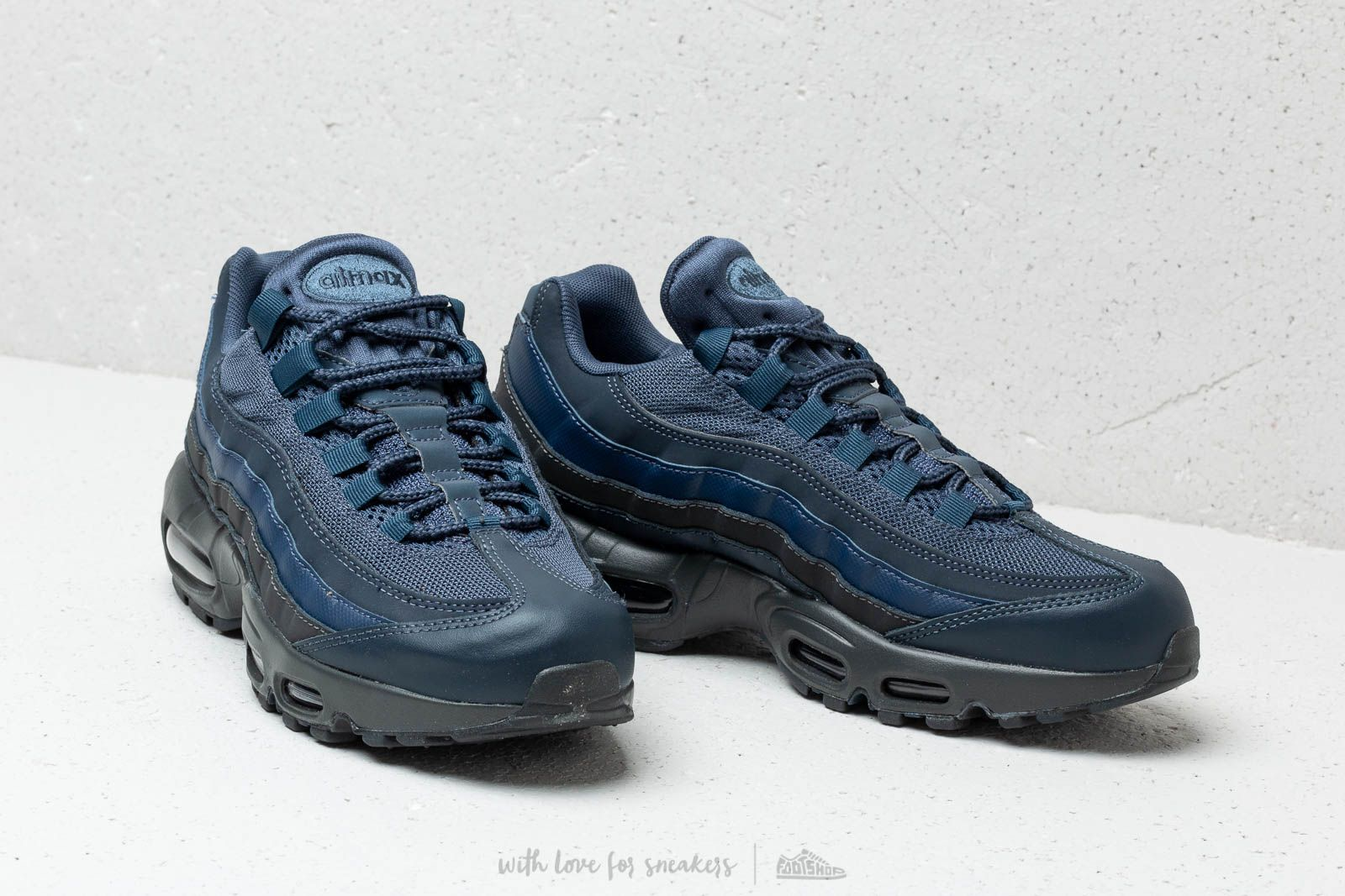 Nike Air Max 95 Essential Squadron Blue Squadron Blue | Footshop