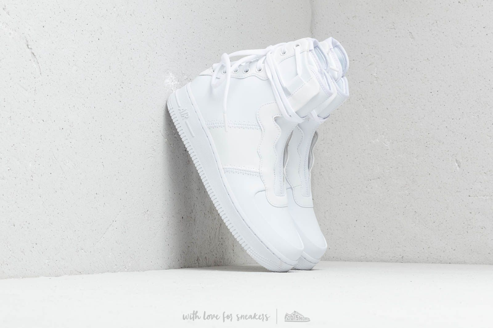 Nike Wmns Air Force 1 Rebel XX White/ White