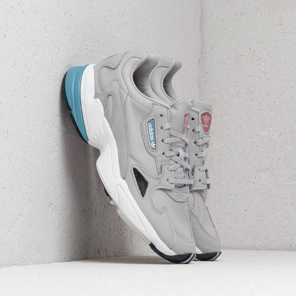 adidas Falcon W Grey Two/ Grey Two/ Raw Grey, Gray