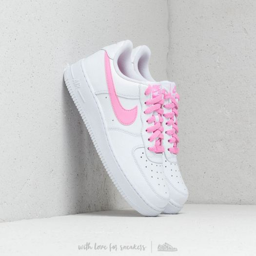 Nike Wmns Air Force 1 '07 Ess White Psychic Pink | Footshop
